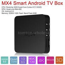 MX4 Android 6.0 Smart TV Box RK3229 Quad Core 4K 1080P Mini PC WiFi Media Player