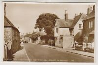 Sussex (East) postcard - Pevensey, High Street & Old Town Hall - RP - P/U (A890)