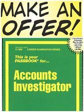 Accounts Investigator Test Practice Passbook (Upcoming Exam) FREESHIP