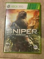 Sniper: Ghost Warrior (Microsoft Xbox 360, 2010) First Print Black Label