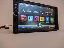 "2DIN 7"" HD AUTORADIO BLUETOOTH STEREO LETTORE MP5 AUX Mirror Link SD USB"