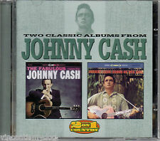 Johnny Cash - The Fabulous Johnny Cash / Songs Of Our Soul (2 albums on 1 CD)