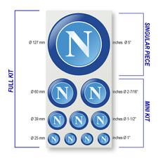 SSC Napoli Decal Sticker Set