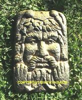 NEW DESIGN LATEX MOULD MOLD MOULDS PAGAN WICCAN GREENMAN GREEN MAN PLAQUE 21