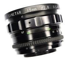 Cinetar 15mm f2.8 M-42 mount  #V6370