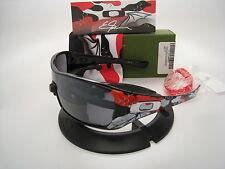 Rare New Oakley Antix Ernesto Fonseca sig.series Black w/Koi w/Blk Iridm 24-163