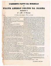 1848 NAPOLI RIVOLUZIONE :  FOGLIO VOLANTE