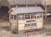 GWR Wooden Signal Box Kit - N gauge Ratio 223 Free Post P3