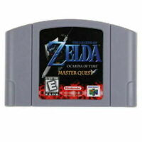 The Legend of Zelda Ocarina of Time Master Quest Video Game for Nintendo N64 US