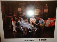 "Vintage Texaco Havoline Racing- ""The Beginning"" 4 Andretti Generations Autograph"