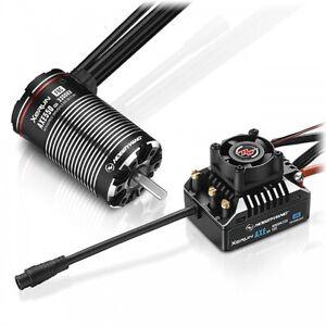 Hobbywing Xerun Axe550 3300Kv R2 Foc Sensored B/Less Combo HW38020314