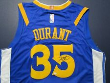 Kevin Durant (Golden State Warriors) Autographed Basketball Jersey w/COA