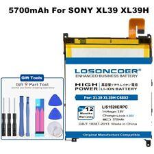 LOSONCOER 5700mAh LIS1520ERPC Battery For Sony Xperia Z Ultra XL39H C6802 C6806