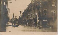 Flood Scene at Hotel Birmingham Belle Vernon PA RP Postcard