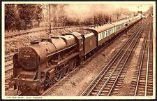Postcard - Railway - The Red Rose (L.M. Region)