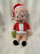 Looney Tunes Porky Pig Santa Claus Christmas Xmas Plush