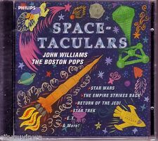 JOHN WILLIAMS & The Boston Pops Orchestra Space-Taculars 1995 Soundtrack CD NEW