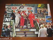 (127)* =JAMES HUNT SUL PODIO=RITAGLIO=CLIPPING=POSTER=FOTO=