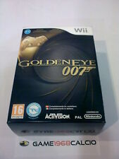 GOLDENEYE 007 LIMITED EDITION + CLASSIC CONTROLLER GOLD - NINTENDO WII - NUOVO