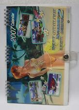 Team NINJA Dead or Alive Xtreme 2 2007 desk calendar xbox 360