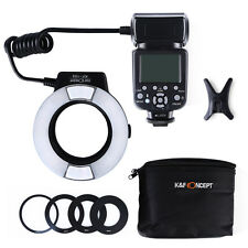 K&F Concept KF-150 Macro Ring Flash E-TTL For Canon Camera 100D 1300D 1200D 550D