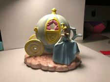 Schmid Disney Cinderella and carriage figure in Euc