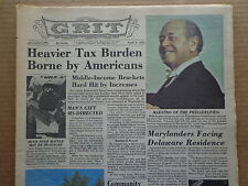 GRIT Newspaper A6 1975 COMICS-Clifton Davis-FRANK ROBINSON-Phildelphia Maestro