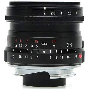 Voigtlander 28mm f2 Ultron Lens for Leica M (Boxed)
