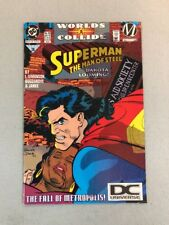 MAN OF STEEL   # 35 COMIC 1994-9.6 SUPERMAN