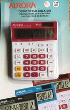 Aurora DT316 Desktop Calculator Includes Correction Key Feature