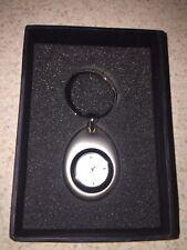 Keychain Pocket Watch Teardrop Style New In Box Needs Battery NEW