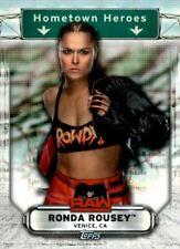 2019 Topps WWE RAW Hometown Heroes #HH33 Ronda Rousey