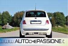 Sotto paraurti posteriore Fiat 500 disponibile con scarico a SX  doppio scarico
