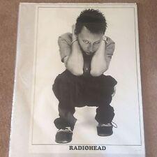 Huge Vintage Rare Radiohead Rock Pop Music Poster Memorabilia