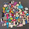 Huge Mixed Vintage Lot 1970 1980s Jem Barbie Ken Doll Clothes Accessories Mattel