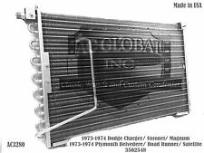 73 74 Dodge Plymouth Charger Belvedere AC Condenser A/C Mopar AC3280 3502548