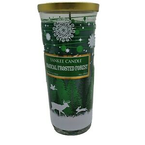 Yankee Candle Magical Frosted Forest Deer Christmas Limited Edition Pillar