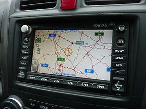 Honda CRV MK3 MODELS 07-12 SATNAV CD PLAYER 39541-SWA-E020-M1 39541SWAE020M1