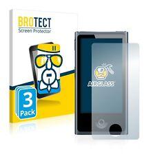 3x Apple iPod nano 2012 (7th generation) Glass Film Screen Protector Protection