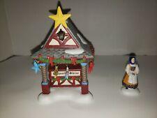 Dept 56 Alpine Village Series Christmas Market Tree Topper Booth 4023610