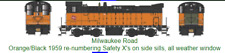BOWSER (HO) 24795 MILWAUKEE DS 4-4-1000 RD# 946 DCC READY - BRAND NEW