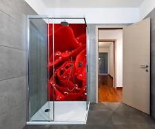 Duschrückwand Rosenblüte Duschwand Design
