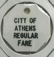 Athens Ohio OH City of Athens Regular Fare Transportation Token