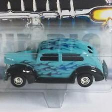 HOT WHEELS MOTOR CITY CLASSICS FAT FENDERED '40 1940 FORD REAL RIDERS -MINT-