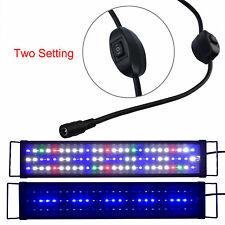 "24""-32"" Aquarium Hood Lighting Full Spectrum Led Fish Tank Light Marine Lamp"