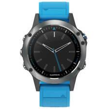 Garmin унисекс Smartwatch Quatix 5 Gps цифровой циферблат синий ремешок 010-01688-40