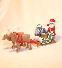 PLAYMOBIL NOEL - Pere Noel et traineau - rennes - cadeaux