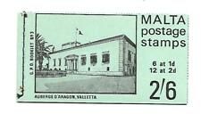 Malta ( Booklet ) Green Mint Never Hinged