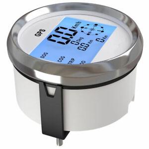 Waterproof GPS Digital Speedometer Odometer Gauge For Auto Car Truck Marine 85mm