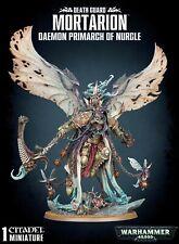 WARHAMMER 40K-  DEATH GUARD MORTARION DAEMON PRIMARCH OF NURGLE